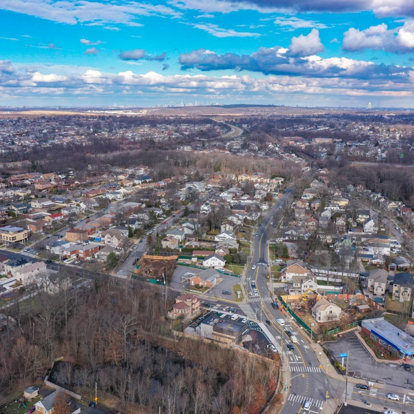 Commercial Aerial Real Estate