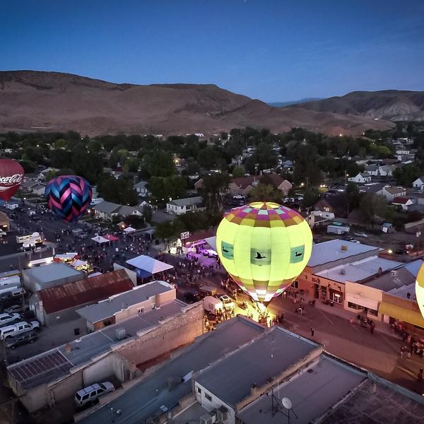 Salina, Utah.  Balloon Festival 2019