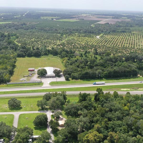 Florida citrus farm