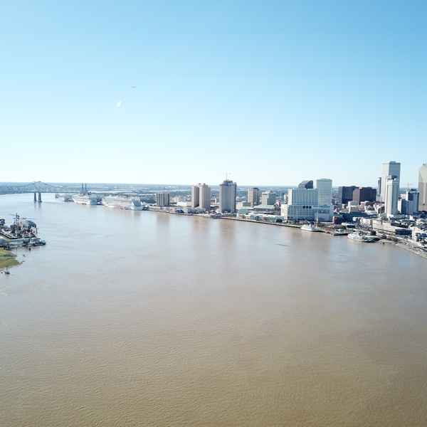 Mississippi River / Downtown New Orleans