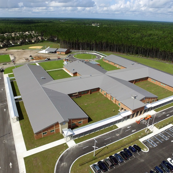 Completed construction of Elementary School in Clay County