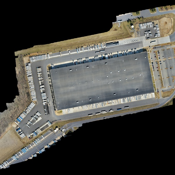 A Warehouse map for Trailer Management System (TMS) Precise GPS mapping