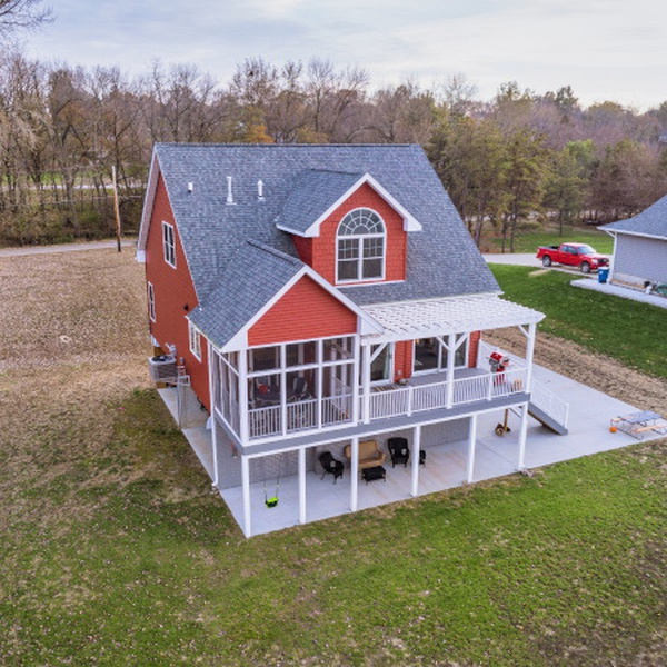 Real Estate Aerial Photography - Albany, IL