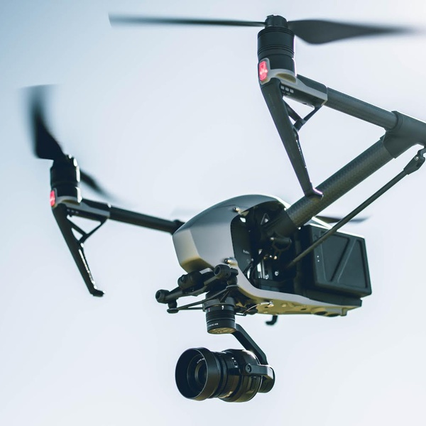 DJI Inspire 2 Drone for Aerial Inspections, Aerial Surveys & Mapping