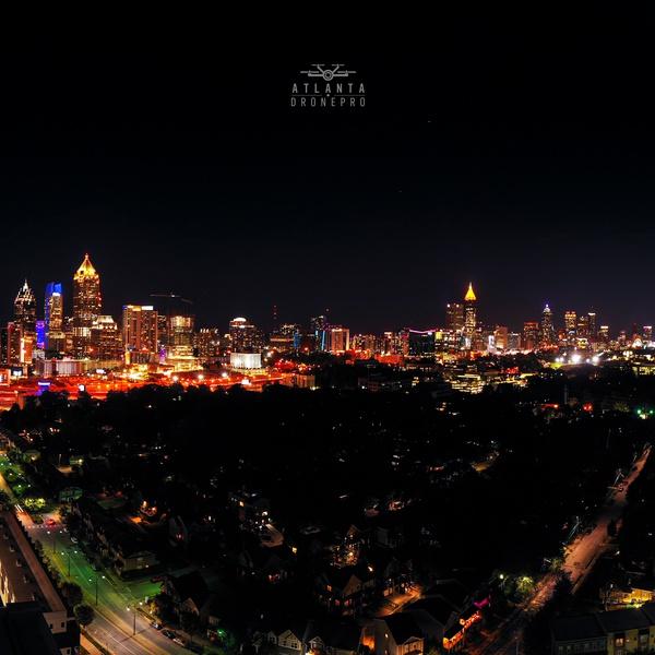 Downtown Atlanta Pano