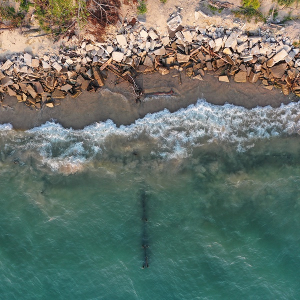 Old Sea Wall