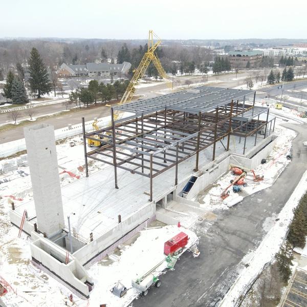 construction build progress