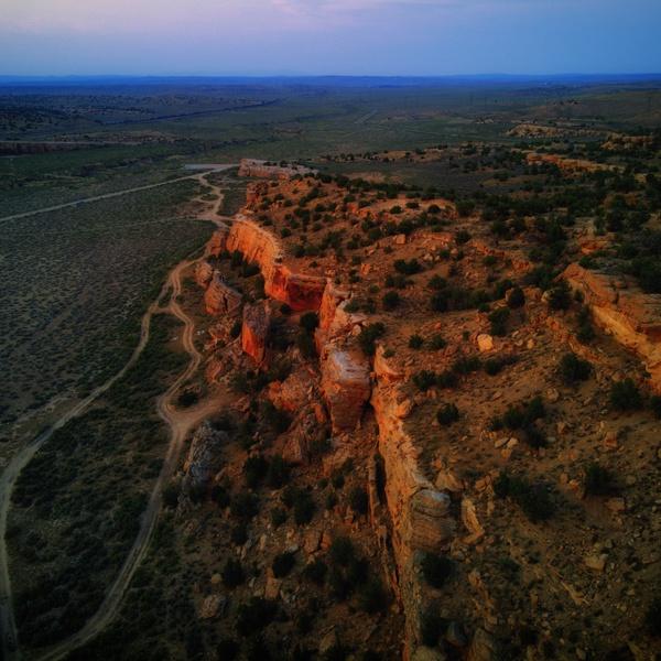 Gallup climbing area