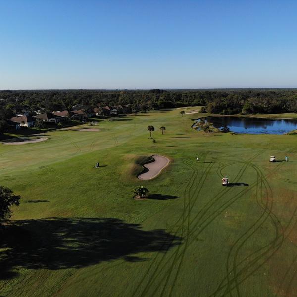 Sebastian Golf Course Early morning