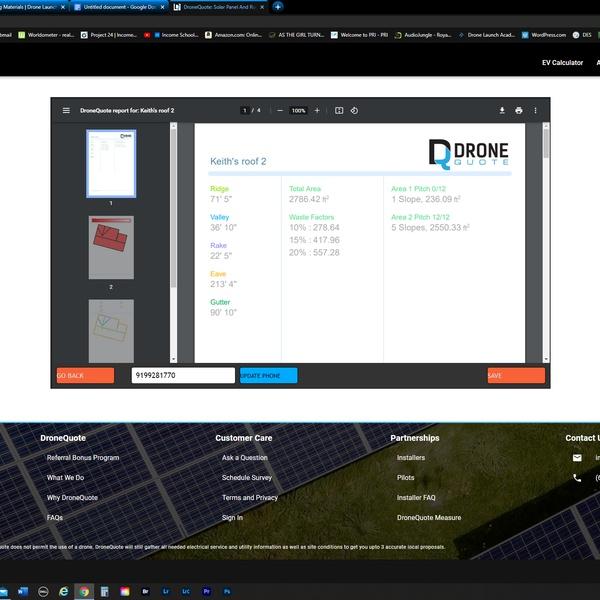 Dronequote.net Roof Report