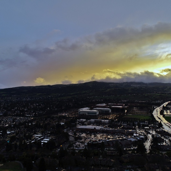 San Ramon storm clear