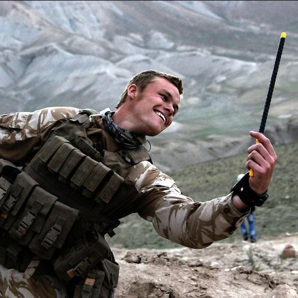 A Kiwi soldier in Afghanistan