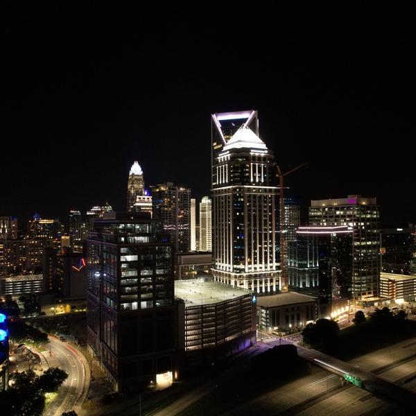 Charlotte Night Skyline