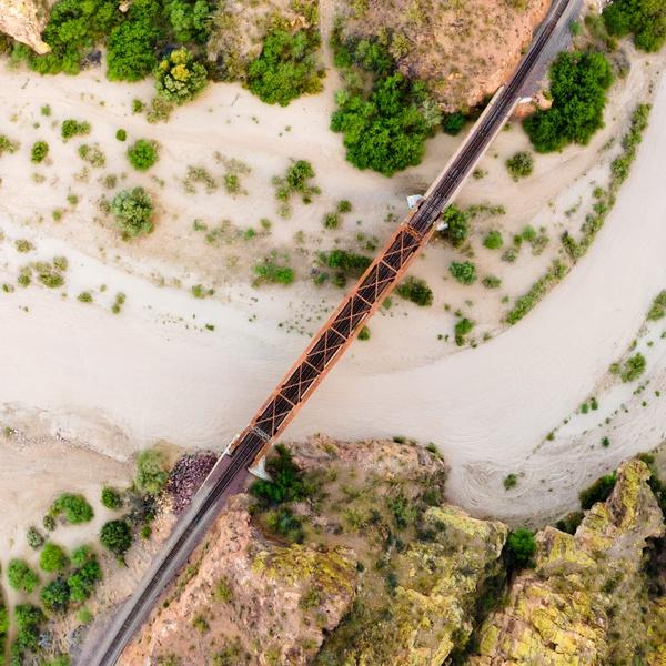 Hassayampa Peavine Rail Bridge