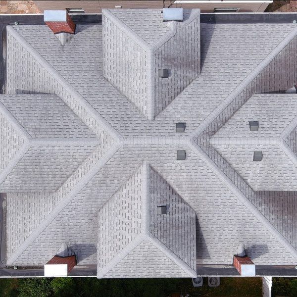 Top-down roof image