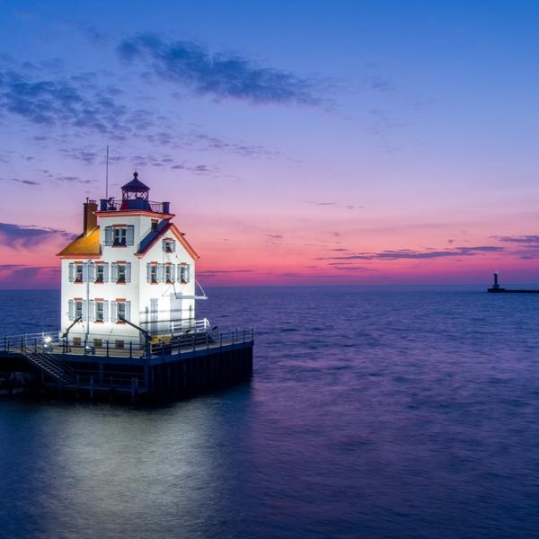 'Jewel of the Port' Lorain Lighthouse, Lorain, Ohio