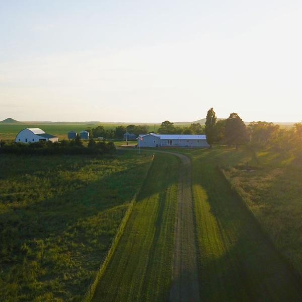 Image of my in-laws farm in Glencross South Dakota