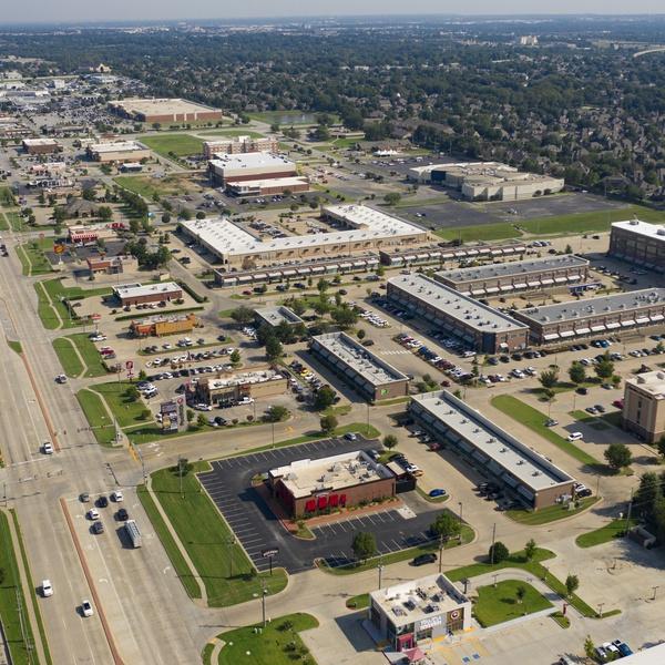 PostRock Shopping Center - Tulsa, OK (Aerial | North)