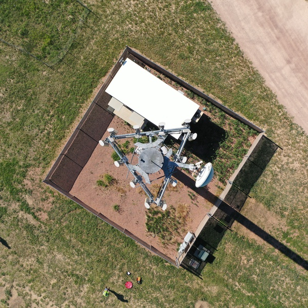 Cell Tower Inspection 90º Site Image