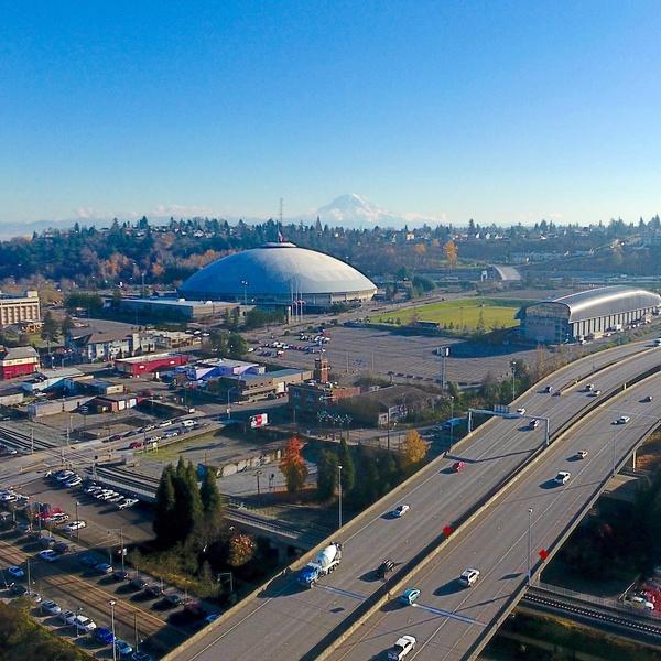Landscape Shot of Tacoma