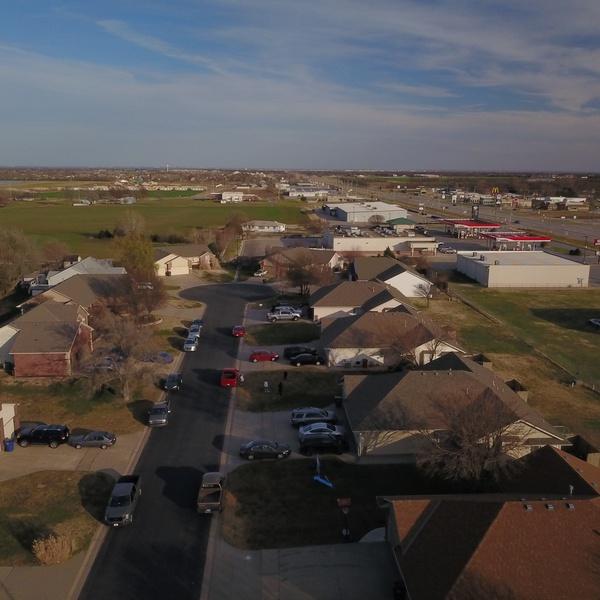 Nieghborhood street overview