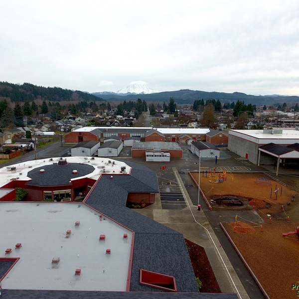 Government Roof Inspection- Orting, WA
