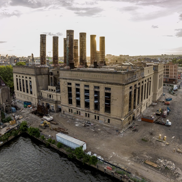 The old power station in Philadelphia, PA.