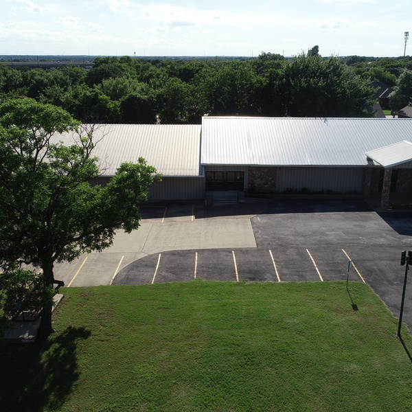 Aerial Shot - Building Front (Center)