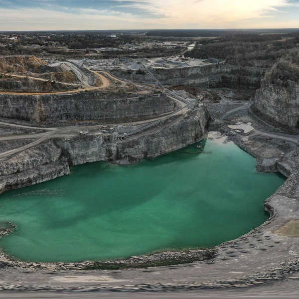 Vulcan Materials Quarry in Clarksville, Tennessee