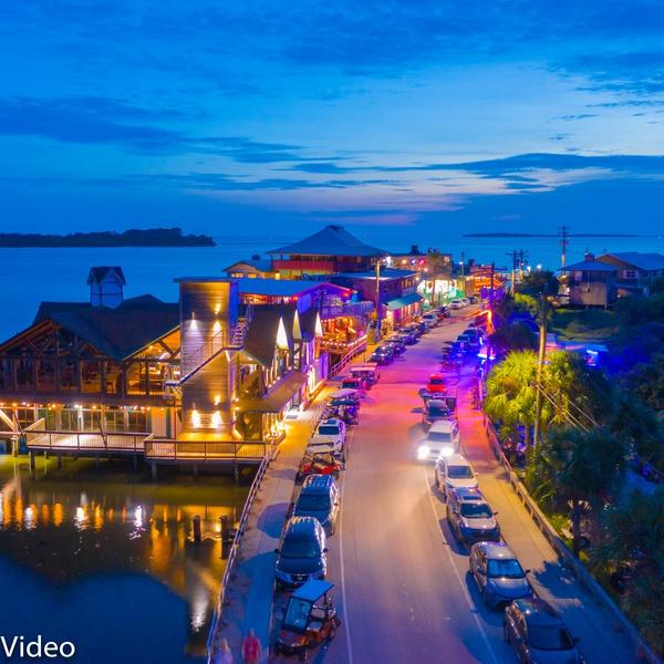 Dock Street Cedar Key Florida