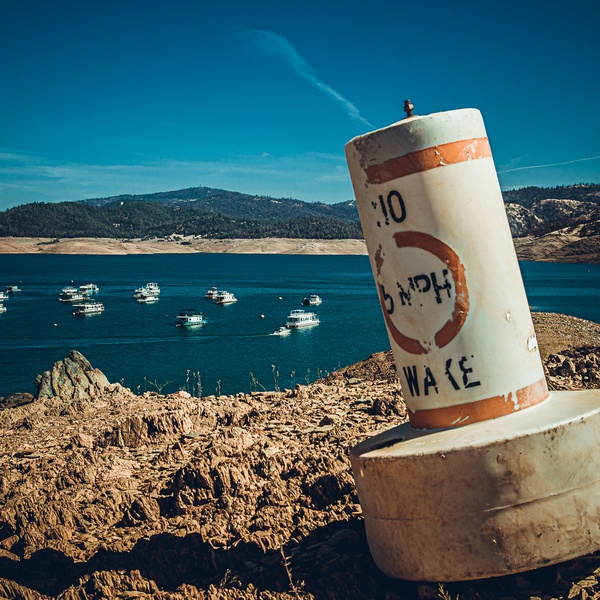 California 2021 Drought- Lake Oroville (Ground DSLR Shot))