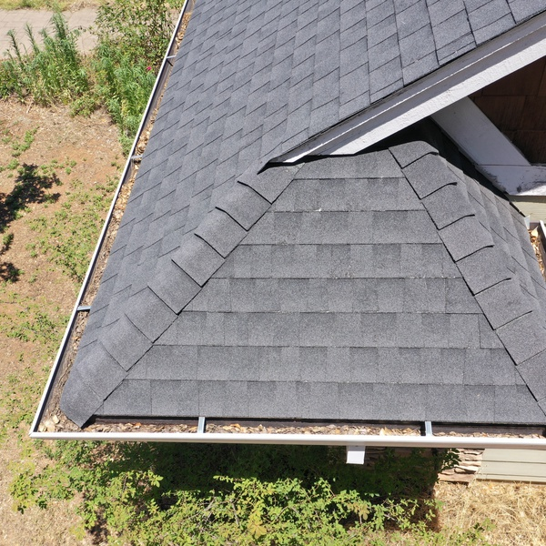 Roof Inspection Close-Up