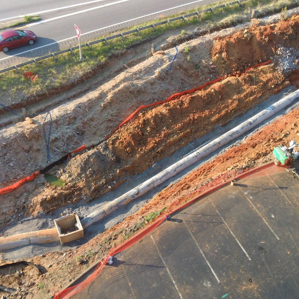Construction Storm Drainage