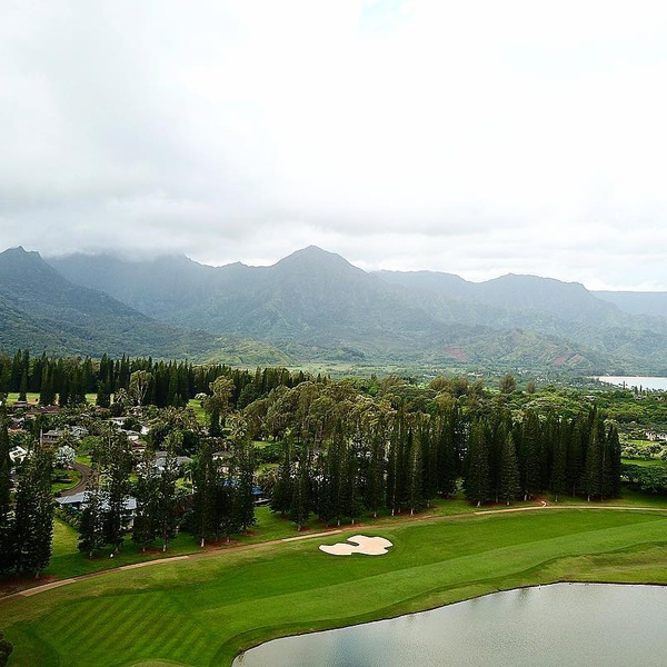 Golfing in Hawaii