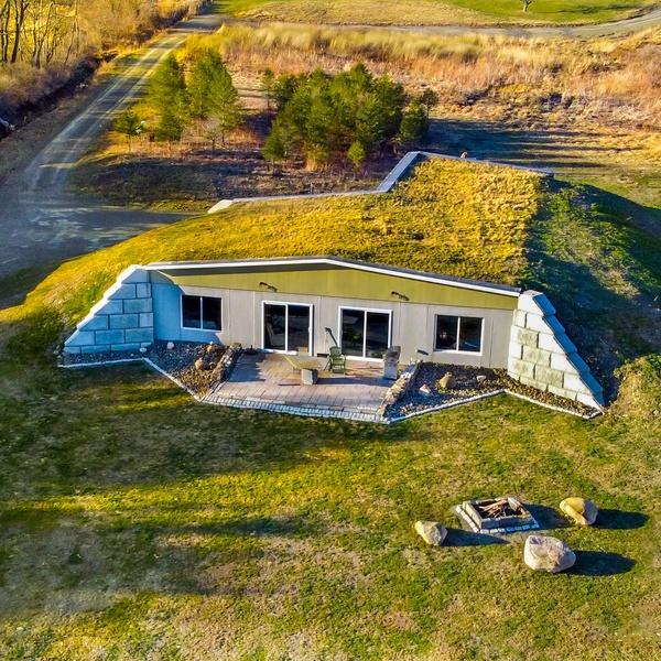Earth Sheltered Home - Ithaca NY