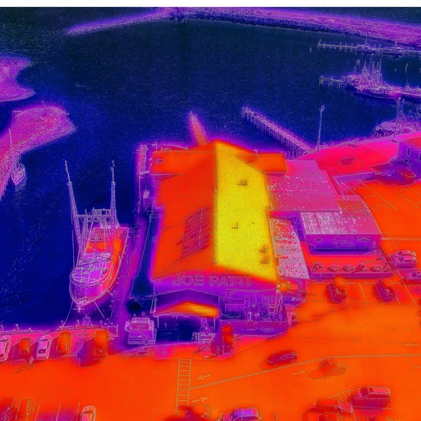Infrared Image of Roof