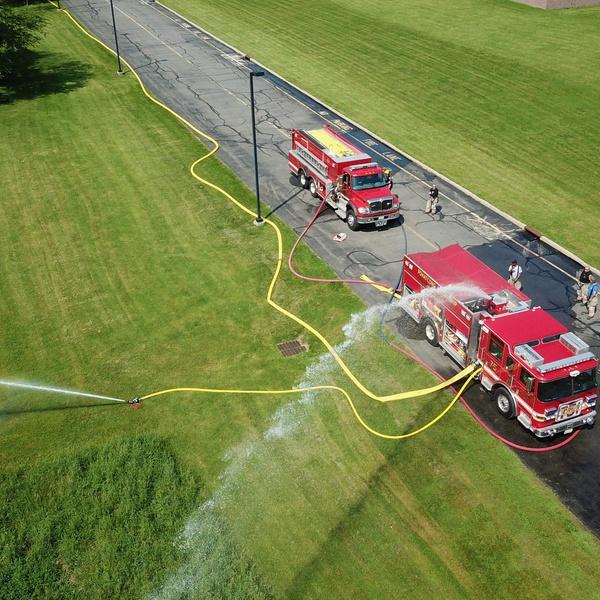 Scene Monitoring for Fire Department Drill