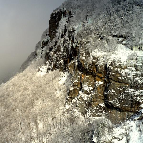 Winter Cliffs