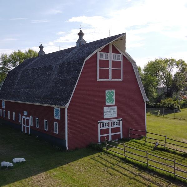 Heritage Village Photoshoot Barn Side