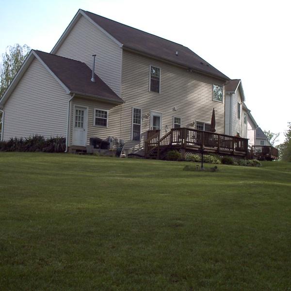 Home Backyard View