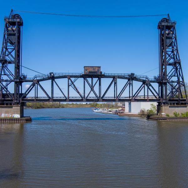 Norfolk Sothern's Black River Lift Bridge, Lorain, Ohio