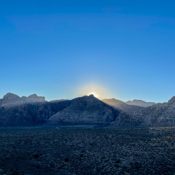 Sunset in Red Rock