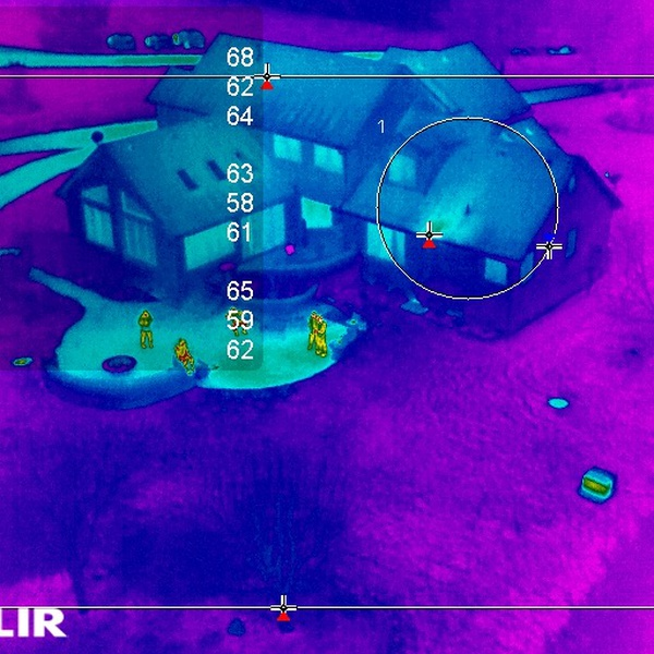 COMMERCIAL & RESIDENTIAL ROOF INSPECTION - THERMAL IMAGING