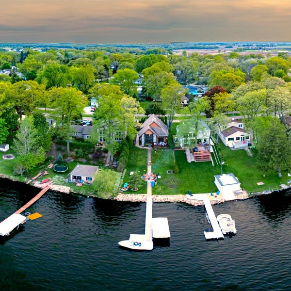Wisonsin Lake House Panorama, Edited