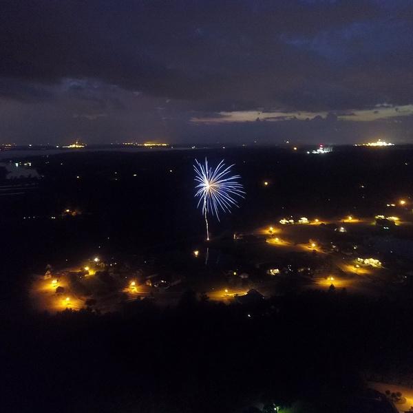 Lone Firework