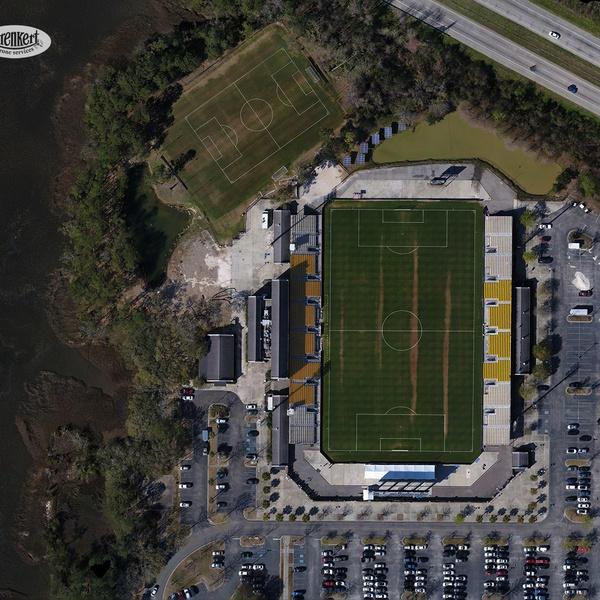 MUSC Health First Stadium Orthophoto