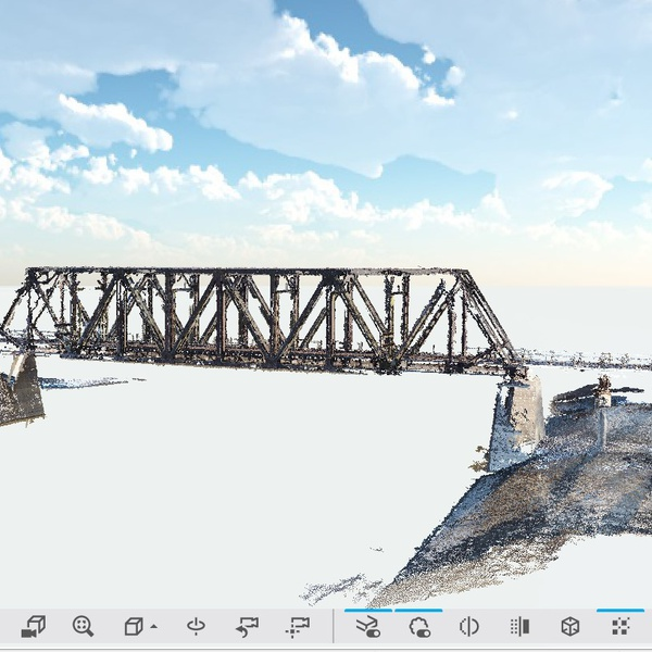 3D model of bridge