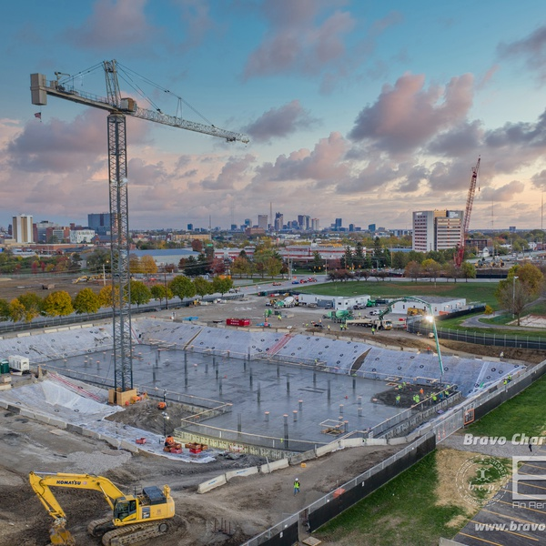 2nd Largest Concrete Pour in Ohio