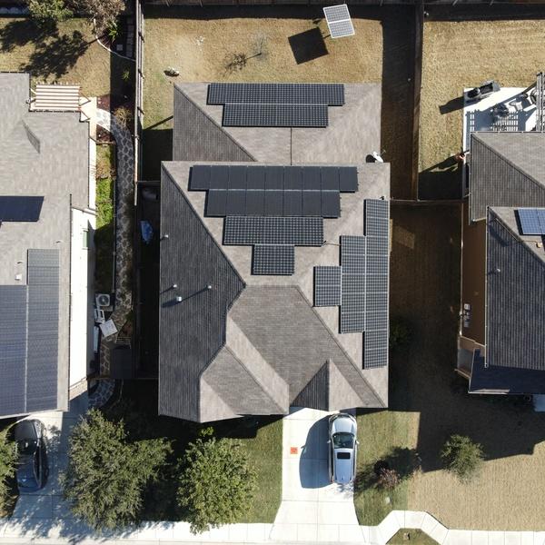 Aerial Solar Panels