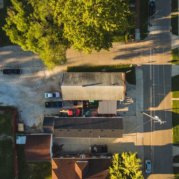 Top Down Real Estate Photograph